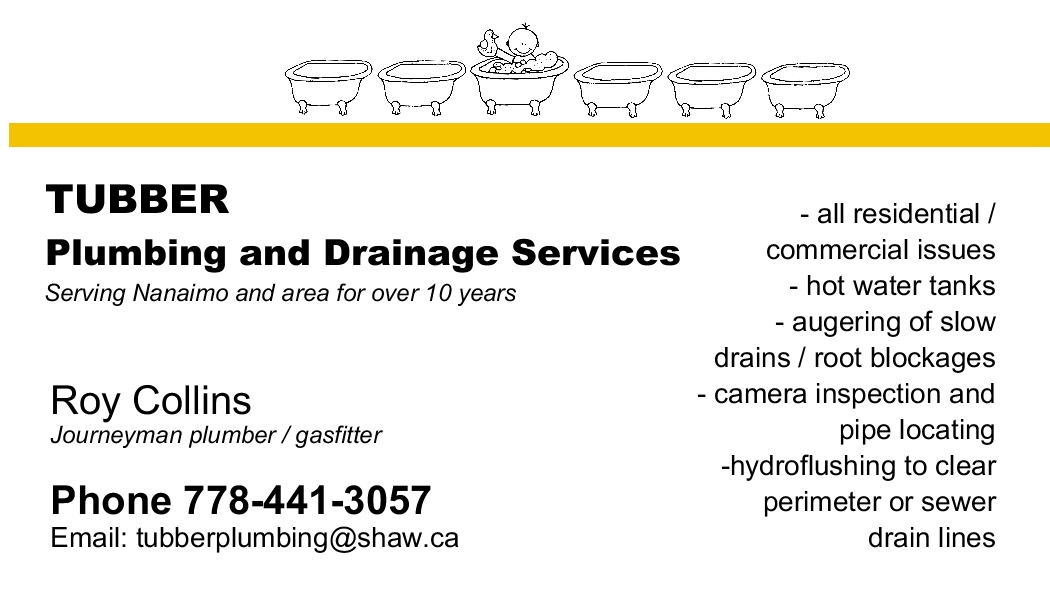 warranty tubber plumbing and drainage services. Black Bedroom Furniture Sets. Home Design Ideas